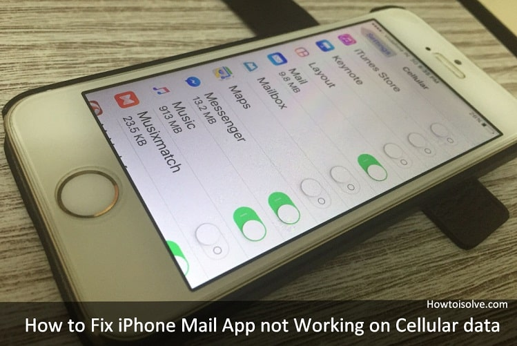 iphone cellular data not working iphone mail app not working on cellular data here s fix 2814