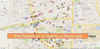 Find on Desktop screen or Macbook