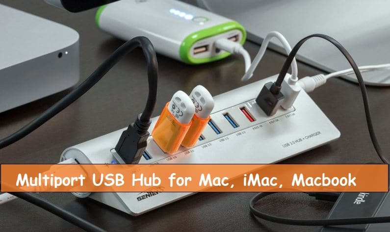 USB Hub for Macbook from Sentey
