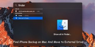 Move iTunes Backup to External Drive