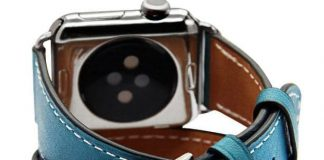 Leather band for apple watches 38mm