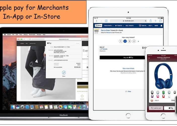 Apply pay integration for merchants in country wise