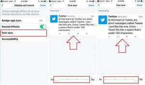 How to change text size on Twitter app: iPhone/ iPad