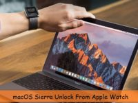 Setup apple watch for auto unlock macos login