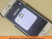 check apple pay transactions history on iPhone, ipad