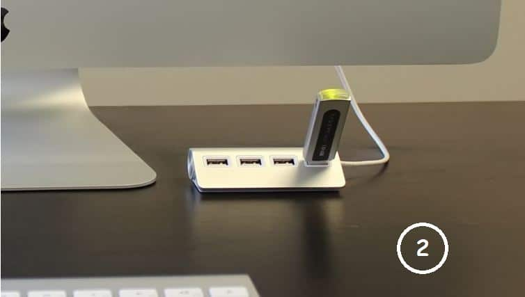 Macbook Pro USB station for Desk