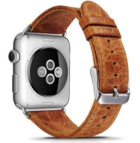High quality Crafted Leather band for 38mm watch