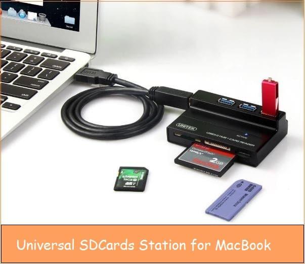 Micro SD card adapter for Macbook Pro, Air or Mac Mini, iMac from UNITEK