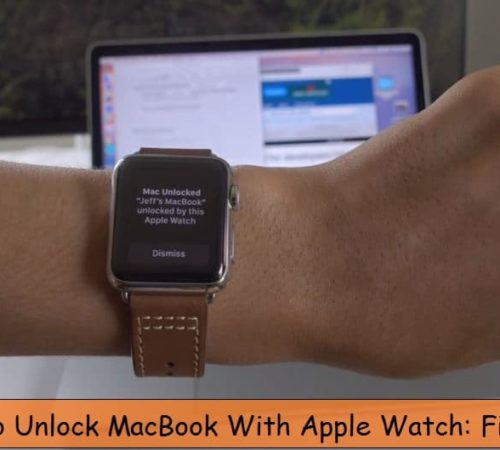 Macbook won't unlock using apple watch Troubleshooting