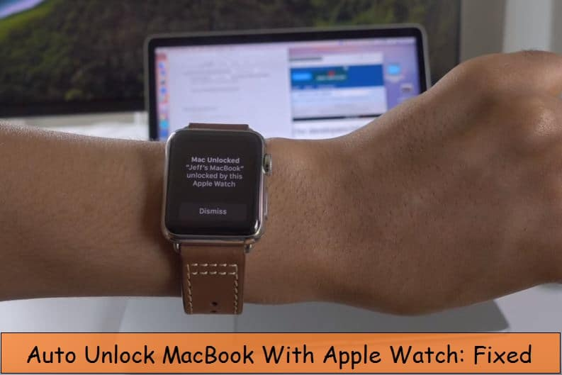 Macbook won't unlock using apple watch Troubleshooting