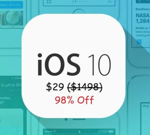 iOS 10 developers course for buy in big deals