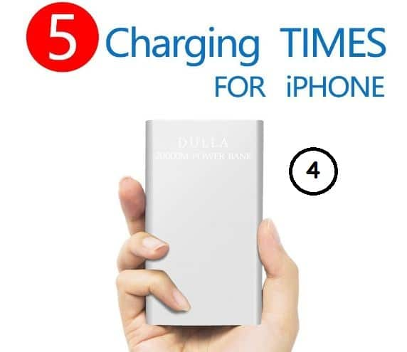 Multiple Time rechargeable battery pack for iOS device
