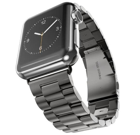 Steel Votech band for 38mm watch