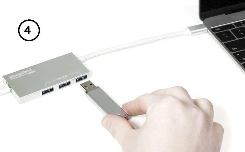 USB C macbook USB hub station