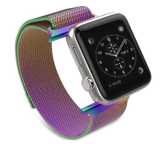 Milanese Loop Stainless steel Apple Watch Band 38mm