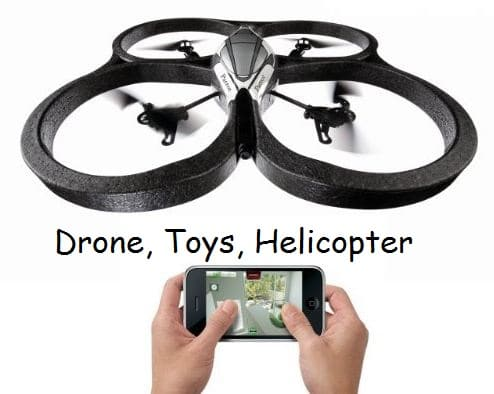 Remote iPhone controlled drone