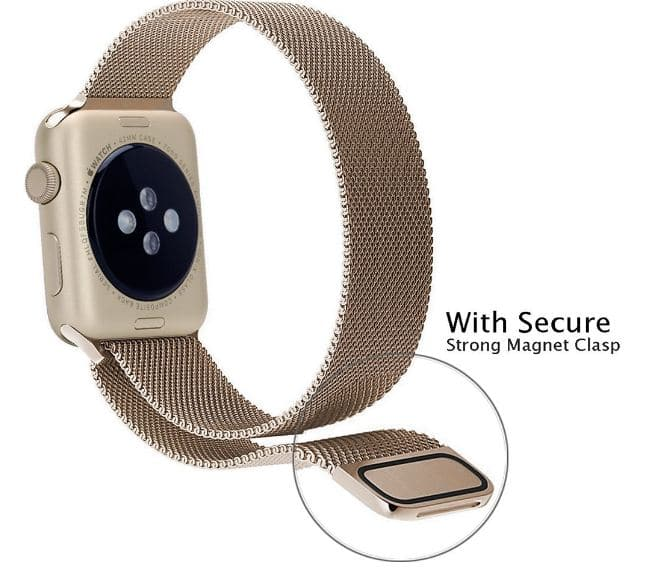 Bracelet band with Magnet lock for apple watches