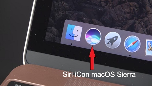 talk to Siri from the Dock of Mac