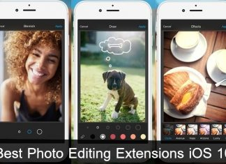 top Best Photo Editing Extensions iOS 10 iPhone, iPad 2016