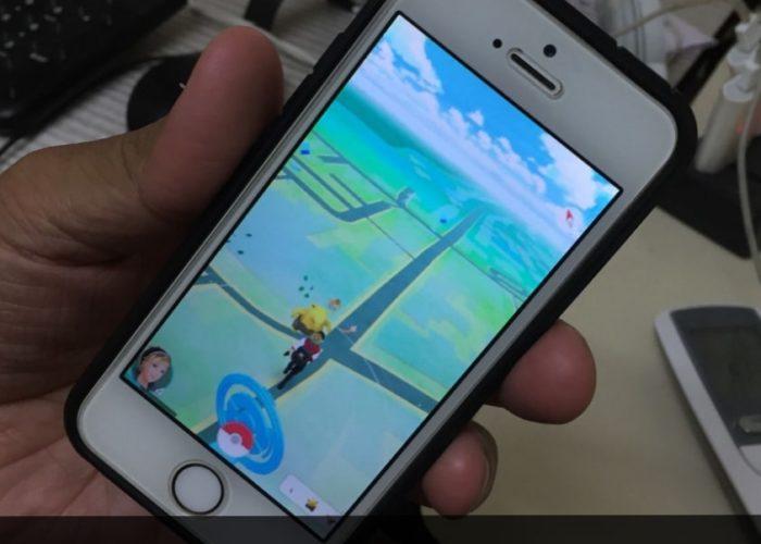 Catch Wild Pokémon on iPhone