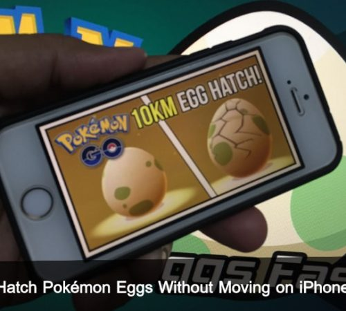 Hatch Pokémon Eggs Without Moving on iPhone