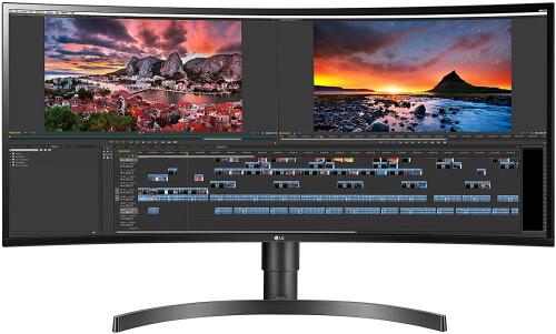 LG Curved UltraWide WQHD IPS Monitor