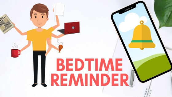 Setup and Change Bedtime Reminder on iPhone and iPad