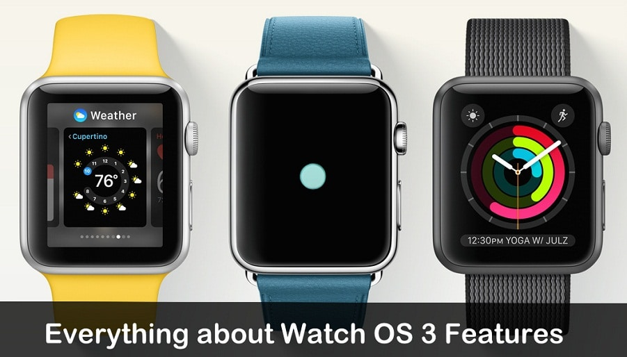 WatchOS 3 Features 2016