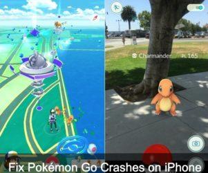 Pokémon Go Crashes on iPhone, iPad