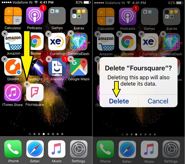 way to Delete App in IOS 10 iPhone, iPad, iPod touch