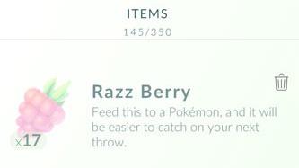 take a Razz berry Pokémon Go Game on your iPhone Find and Catch Wild Pokémon
