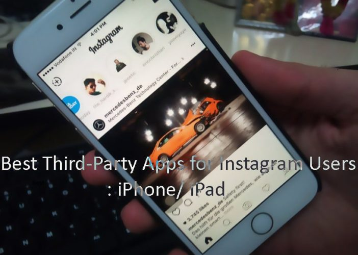 iOS app for instagram users for iPhone, iPad