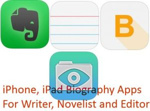 Best iPhone Biography apps for Book Writer: Make your Book