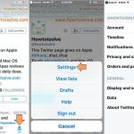 Manage and Stop annoying twitter app notification on iPhone, iPad