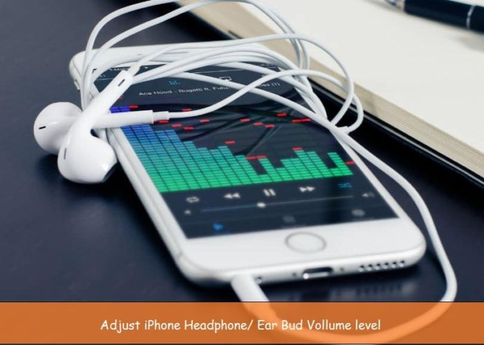 iPhone Volume Balance from headphone