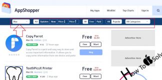 Find Free or Price Dropped app for Mac in Mac app store