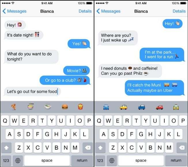 Use Predictive Emoji on Message app