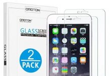 Glass Screen Protector for iPhone 7 Plus by Omoton