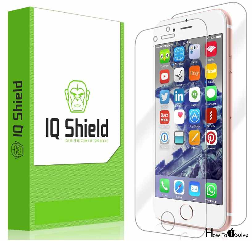 IQ Shild Protector in iPhone 7