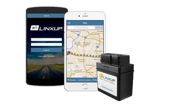 3 Linxup Vehicle Tracking system for iPhone iPad