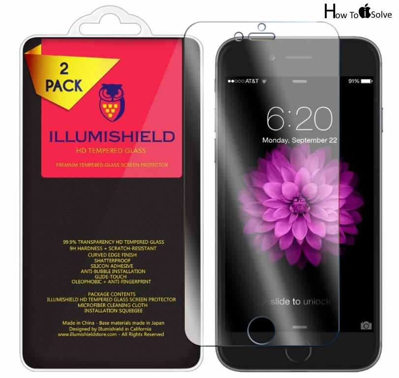 ILLUMISHIELD iPhone 7 screen protector