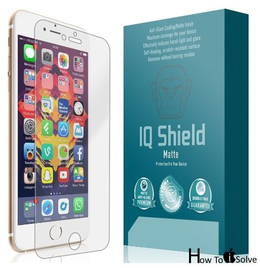 IQ Shield Hard Screen gaurd for iPhone 7