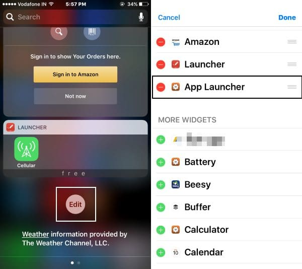 Add Widget in Today View or Notification center in iOS 10
