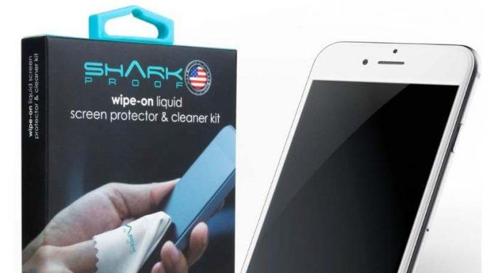 SHARK iPhone 7 screen protector in deals
