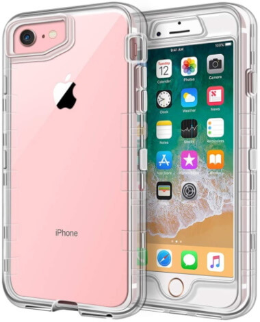 Anuck Best iPhone 7 Clear Case