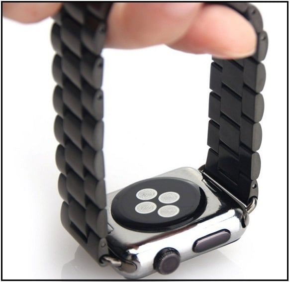 Apple Watch band space grey third-party