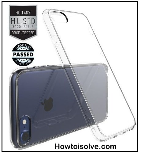 iPhone 7 Crystal Clear Bumper Case