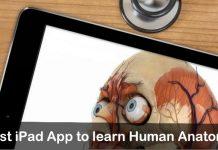 Best iPad App to learn Human Anatomy iPhone, iPad