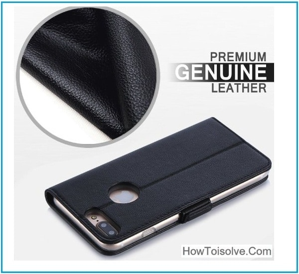 cool Genuine Leather Case for iPhone 7 Plus Pro