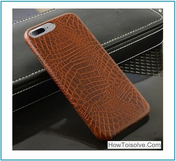 Outstanding iPhone 7 Plus Leather Back Cover 2016